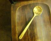 Spalted birch kitchen spoon