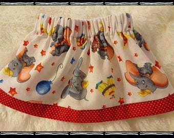 "Handmade Disney Dumbo Skirt For American Girl Dolls and Other 18"" Dolls"