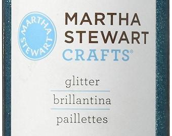 Martha Stewart Crafts Fine Glitter, Turquoise, 4.58 Ounces