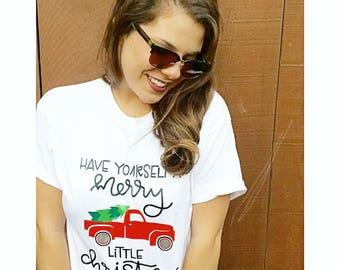 Christmas Shirt // Christmas Family Shirts // Vintage Christmas Shirt // Cute Christmas Shirts // Holiday Shirts // Holiday Photo Shirt