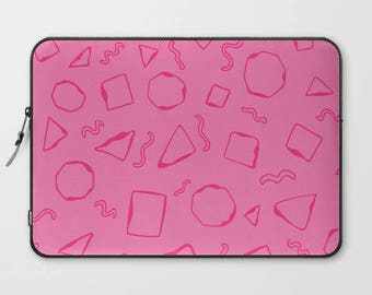 Pink Laptop Sleeve, Laptop Cover, Sleeve, Laptop Sleeve 13, Laptop Sleeve 15, MacBook Sleeve 13, Laptop Sleeve 13 inch, Laptop Sleeve 15 in