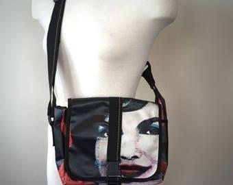 Andy Warhol Jackie O purse, Andy Warhil Bag, jackie O bag, Jacqueline Kennedy Onassis, Jackie O Style, 90s Andy Warhol, 90s Color block, bag