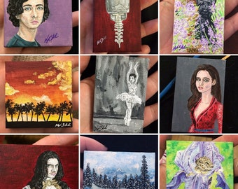 COMMISIONS *Miniature Painting*
