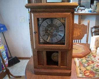 Cherry mantel clock