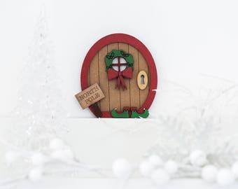 Handmade North Pole Door