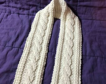 Crochet Celtic Scarf