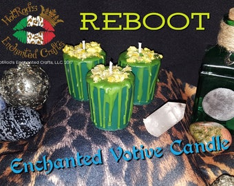 Reboot ~ Enchanted Votive Candle