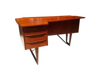 Danish mid-century modern Peter Løvig Nielsen Boomerang desk - MCM