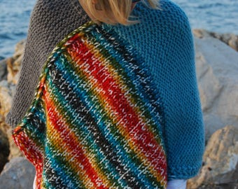 Poncho, Easy Pattern, DIY