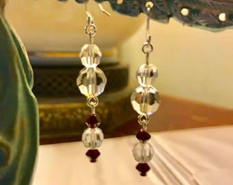 Carmen's Classic Swarovski Crystal Dangle Earrings