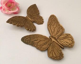 MCM Gold Butterflies Wall Decor