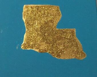 Louisiana Gold Painting