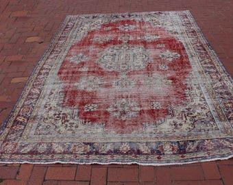 Area rug,300x215cm,9'8x7.0ft,Turkish rug,Large rug,Turkish Carpet Rug,large carpet,Carpet,Rug,Oversize Rug,Large Oushak Rug,Rugs
