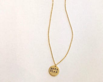 Personalized Dainty Initial Necklace (Gold)