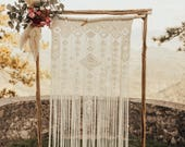 Macrame backdrop, Wedding...