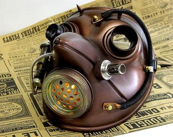 """Steampunk Mask ''CHUMNYY DOCTOR-1"""""""