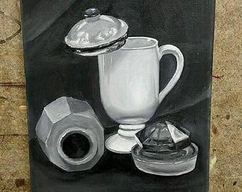Grey scale Still Life