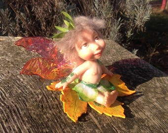 Ooak fata polymer clay / Ooak polymer clay fairy