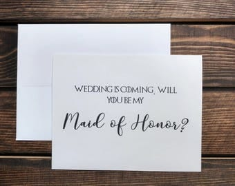 Will You Be My Bridesmaid Card, Will You Be My Maid of Honor Proposal, Game of Thrones Card, Bridesmaid Proposal Card, Bridesmaid Cards, GoT