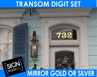 Home Address Transom Vinyl Decal Sticker For Window Glass Pane - Vinyl stickers for glass cape town