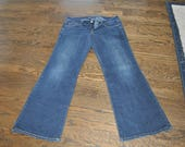 Thrifted Womens Jeans, Women's Size 10 Jeans, Dark Blue Jeans, American Eagle Jeans, AE Jeans, Gift for Her, Women's Clothing Size 10 Jeans