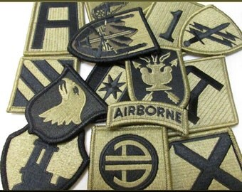 Lot Bulk of Vintage Military Patches