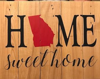 Home Sweet Home Georgia