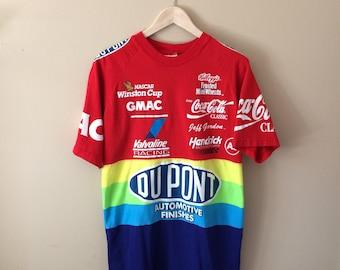 Vintage Jeff Gordon Rainbow T Shirt