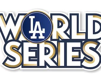 Dodgers world series | Etsy