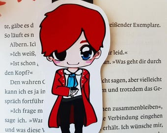 """Magnetic bookmarks """"Kell"""" - inspired by A darker shade of magic by V. E. Schwab"""