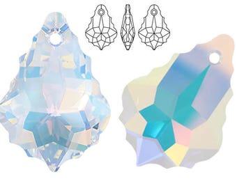 Swarovski Crystal 6090 Baroque 16mm, 22mm - Crystal AB