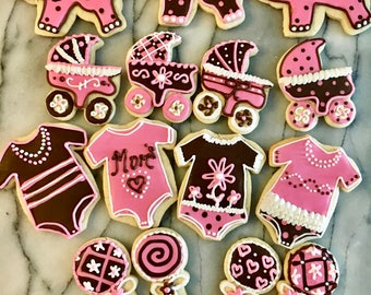 Baby Shower/ Welcome Baby Cookies