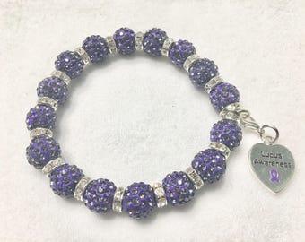 12mm Lupus Awareness Bracelet