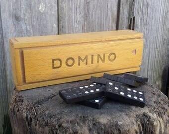Dominoes, Dominoes game, Domino set, Vintage game, Domino,  Board game, Vintage toys.