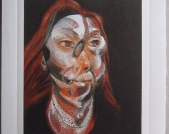 Francis Bacon Print - Printed on Arches Paper