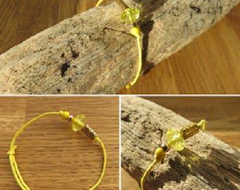 Cotton bracelet wax 16326