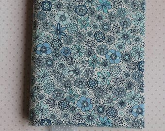 "Hand made notebook ""Flower explosion"""