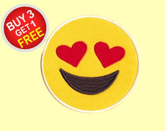 Emoticon Patches Iron On Embroidered Patches Iron On Embroidered Applique