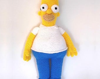 Hand-made Homer Simpson