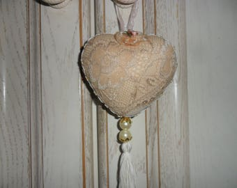 decorative heart to hang or give to someone you love