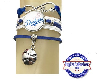 NeW - DODGERS Bracelet - CHooSE from 7 Charms - Super CUTE!  +FREE SHiPPiNG & Discounts*