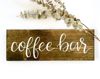 Coffee bar sign | wedding signs, coffee signs, wedding coffee bar, mugs sign, but first coffee, wood signs, rustic wood signs