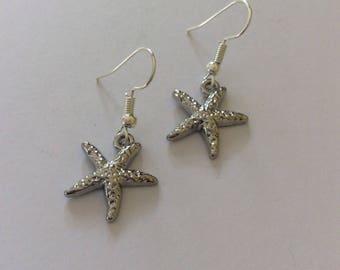 Starfish  earrings / starfish jewellery / beach jewellery / seaside jewellery