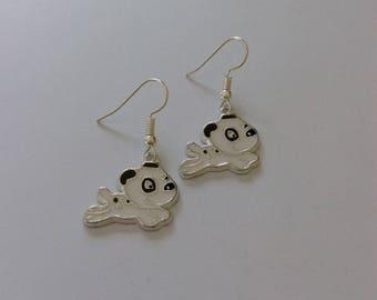 Puppy earrings / dog jewellery / pet jewellery / animal jewellery / animal lover gift