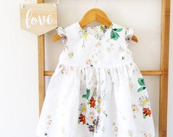 Joy Flutter Sleeve Dress