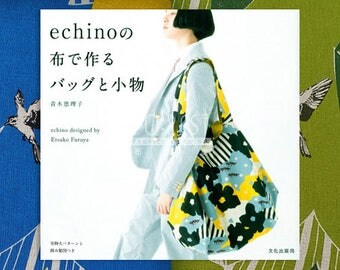 Book | Echino Bags and accessories made by echino fabric