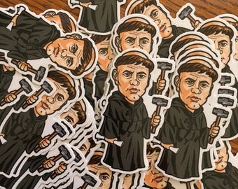 Martin Luther 500 anniversary caricature