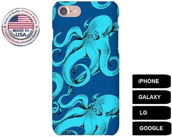 Octopus Phone Case, Phone Case Octopus, Octopus iPhone Case, Octopus Galaxy Case, Octopus Google Pixel Case, iPhone 5s Case, Galaxy S8 Case