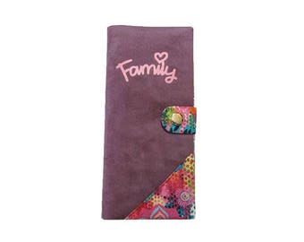 Protects family suede and floral pattern cotton