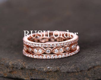 FOR RUSH order,expedite orde! For Sterling silver ring/wedding band /engagement ring/bridal set